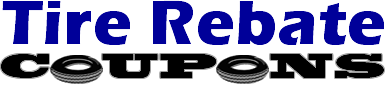 Tire Rebate Coupons